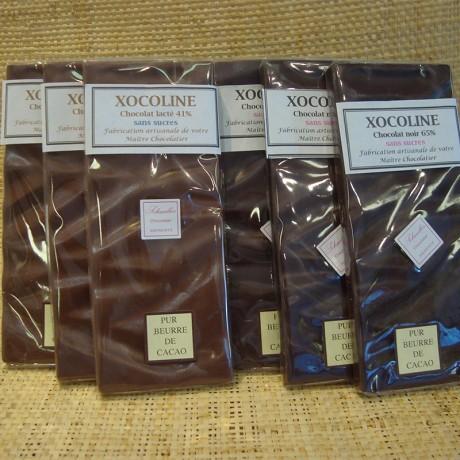 Xocoline - Chocolat pour diabétique