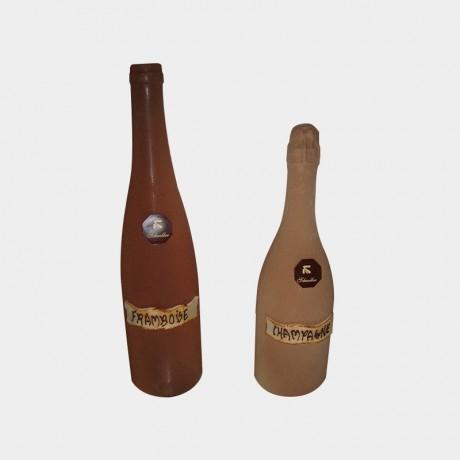 Bouteille vin et champagne